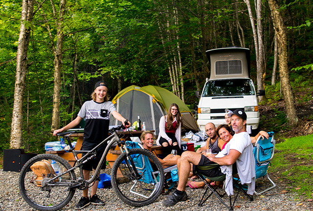 Campgrounds in the Coaticook Region