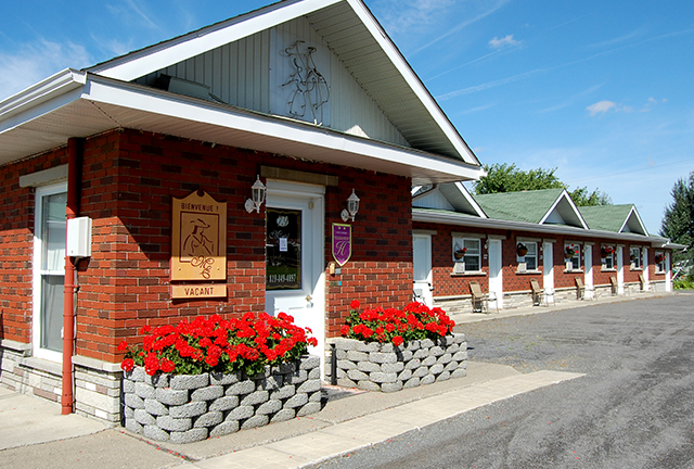 Hotels and motels in the Coaticook Region