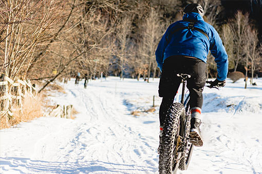 Du Fat Bike dans la région de Coaticook