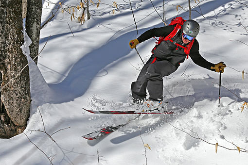 Ski de montage au Mont Hereford